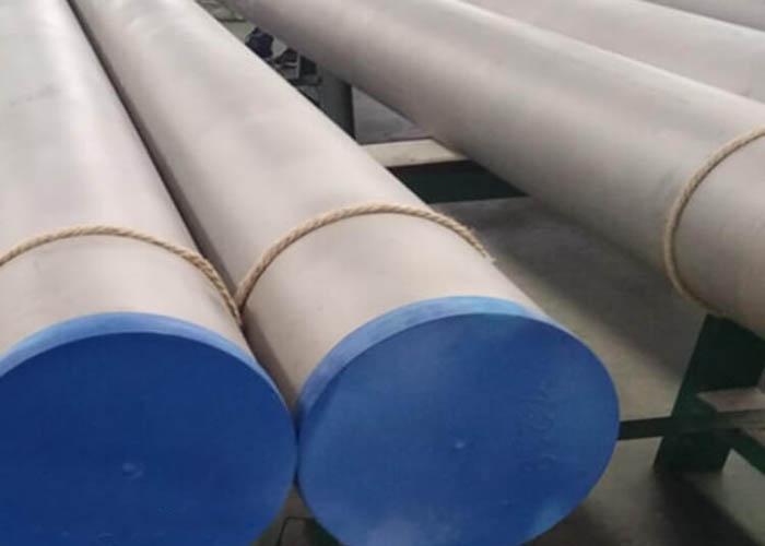 ASTM A790 UNS S31803 S32750 S32760 Duplexná rúrka z nehrdzavejúcej ocele