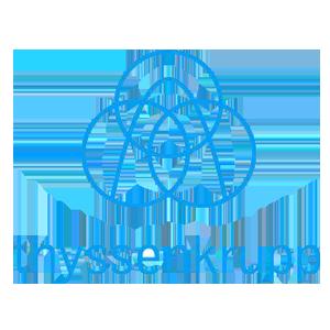 Logo spoločnosti Thyssenkrupp